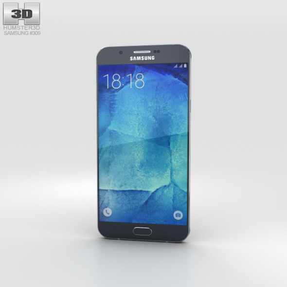 Samsung Galaxy A8 Midnight Black