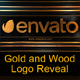 Gold and Wood Logo Reveal / Element 3D - VideoHive Item for Sale