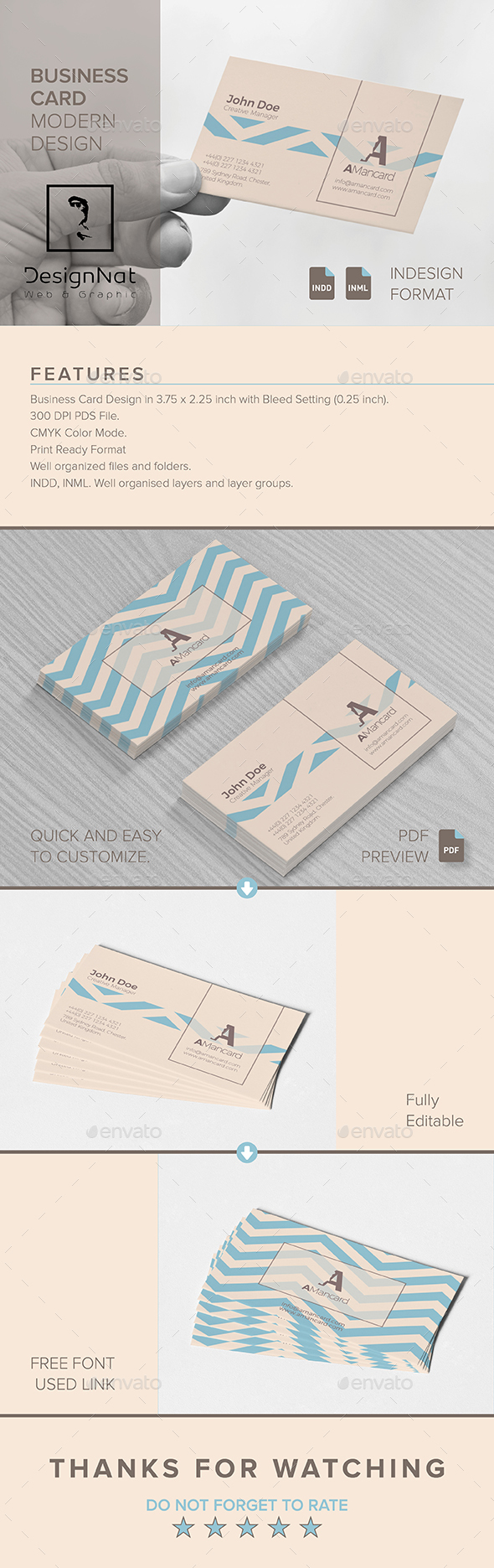 GraphicRiver Business Card 20604597