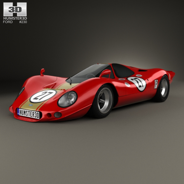 Ford P68 1968 - 3DOcean Item for Sale
