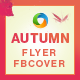 Autumn Fest Flyer and Facebook Cover Template