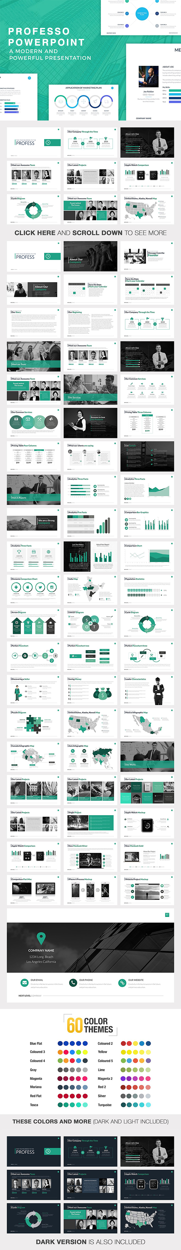 GraphicRiver Professo Powerpoint Template 20604847
