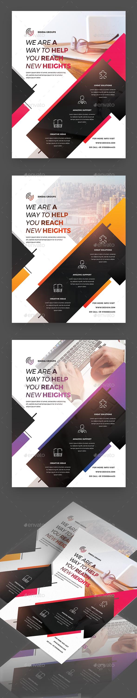 GraphicRiver Creative Corporate Flyer 20604859