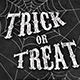 Trick or Treat Chalk Flyer - GraphicRiver Item for Sale