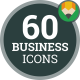 Business Chart Graph Data Report Statistic Animation - Flat Icons and Elements