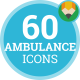 Ambulance Medicine Hospital Clinic Animation - Flat Icons and Elements