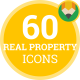Real Estate Property Showcase Animation - Flat Icons and Elements