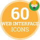 Interface Web Design Animation - Flat Icons and Elements