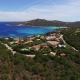 Video From Above. Aerial View of the Villas on the Coast of Sardinia, Italy - VideoHive Item for Sale