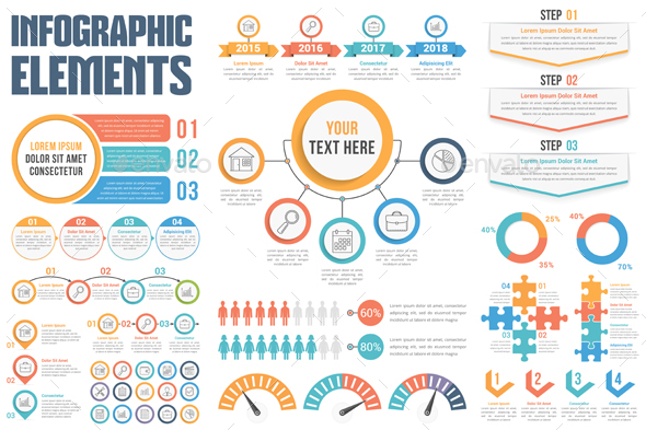 GraphicRiver Infographic Elements 20605265