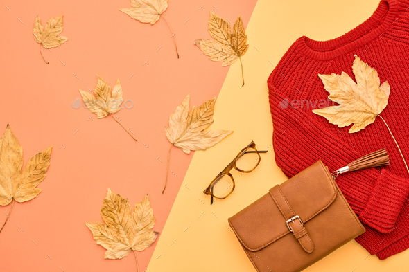 Autumn Fashion - Stock Photo - Images