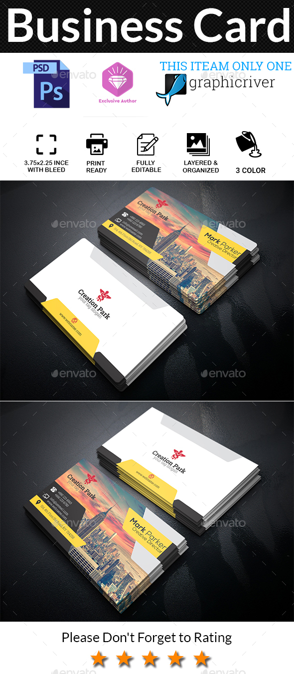 GraphicRiver Business Card 20605494
