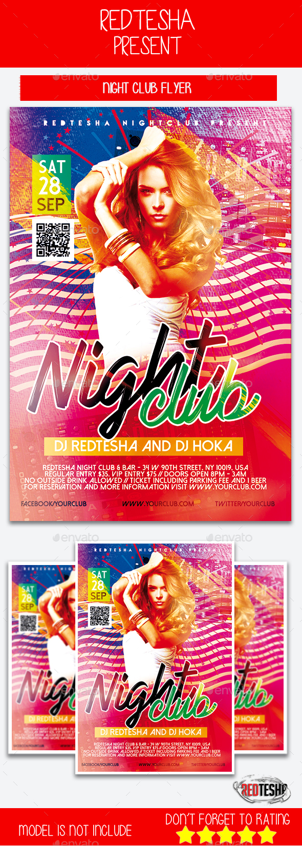 Night Club Flyer - Events Flyers