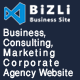 "Bizli - Business Consulting<hr/> Finance</p><hr/> Corporate</p><hr/> Marketing</p><hr/> Agency Template"" height=""80″ width=""80″></a></div><div class="