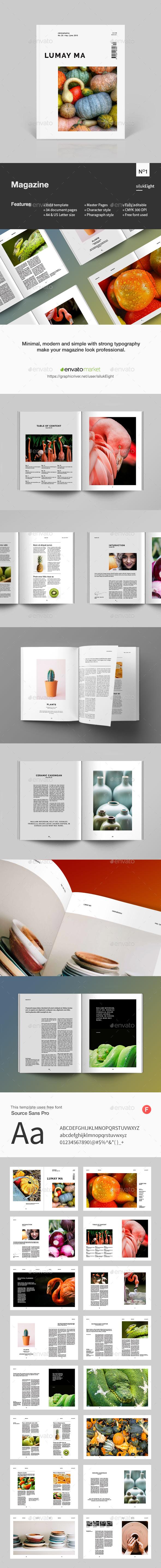 Lumay Ma Magazine - Magazines Print Templates