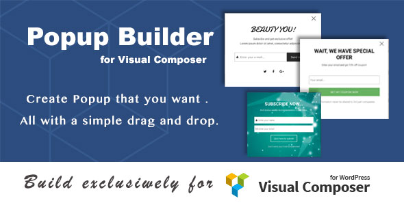 DHPopup - Popup Builder for Visual Composer - CodeCanyon Item for Sale