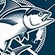 Vintage Tuna Symbols