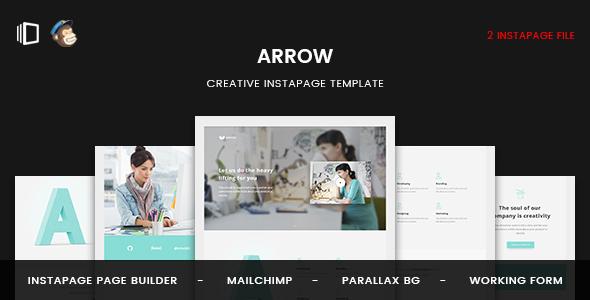 Arrow - Instapage Landing Page - Instapage Marketing