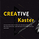 Kaster Creative Keynote template - GraphicRiver Item for Sale
