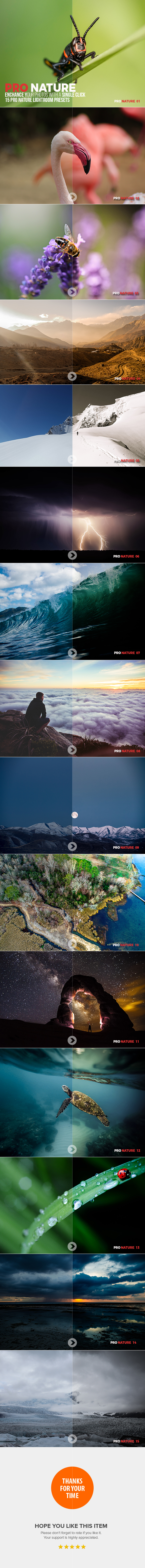 15 Pro Nature Lightroom Presets - Lightroom Presets Add-ons