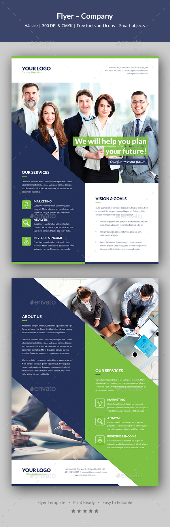 Flyer – Company - Corporate Flyers