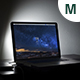 Macbook Photorealistic Mockup