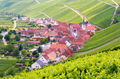 Village of Eschendorf in a wine-growing district in Franconia - PhotoDune Item for Sale