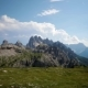 National Nature Park Tre Cime In the Dolomites Alps. Beautiful Nature of Italy.