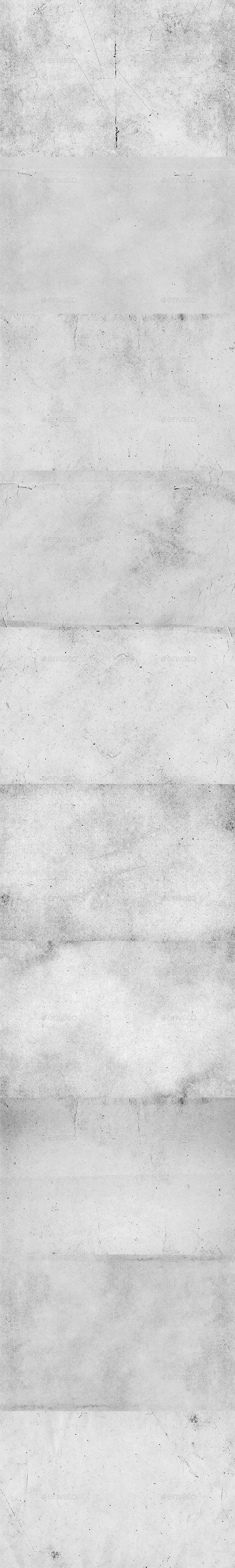 10 Soft Grunge Gray Textures - Industrial / Grunge Textures