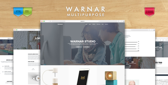 Warnar - Creative Multipurpose Template