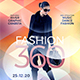 Fashion 360 Flyer Template