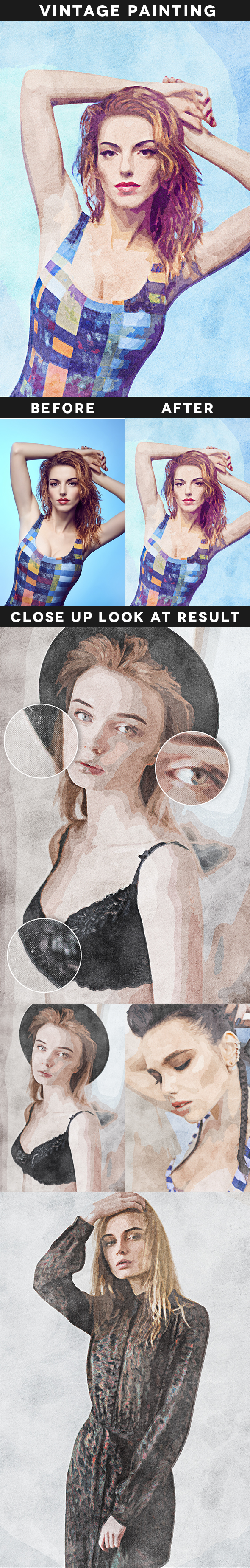 GraphicRiver Vintage Painting Action 20607588