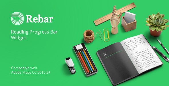 CodeCanyon Rebar Reading Progress Bar Widget for Adobe Muse 20575611