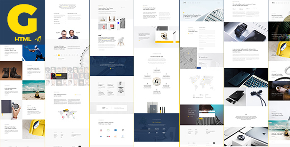 Gro - Creative and Clean HTML Template