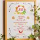 Autumn Anniversary Invitation - GraphicRiver Item for Sale