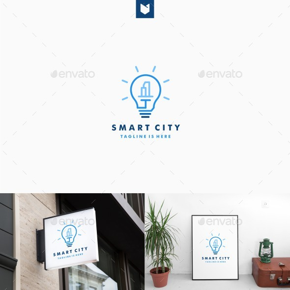 GraphicRiver Smart City Logo 20608460