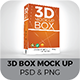 3D Box Mock Up - GraphicRiver Item for Sale