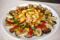 Dish of Italian grilled vegetables