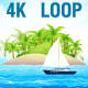 4K Beach Landscape V2 - VideoHive Item for Sale