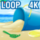 4K Beach Landscape V3 - VideoHive Item for Sale