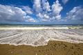 Mediterranean beach near Polis Cyprus