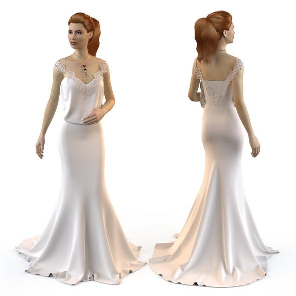 HaniTabib Wedding Dress 2014 - 3DOcean Item for Sale