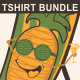 Hello Summer Tshirt Design bundle