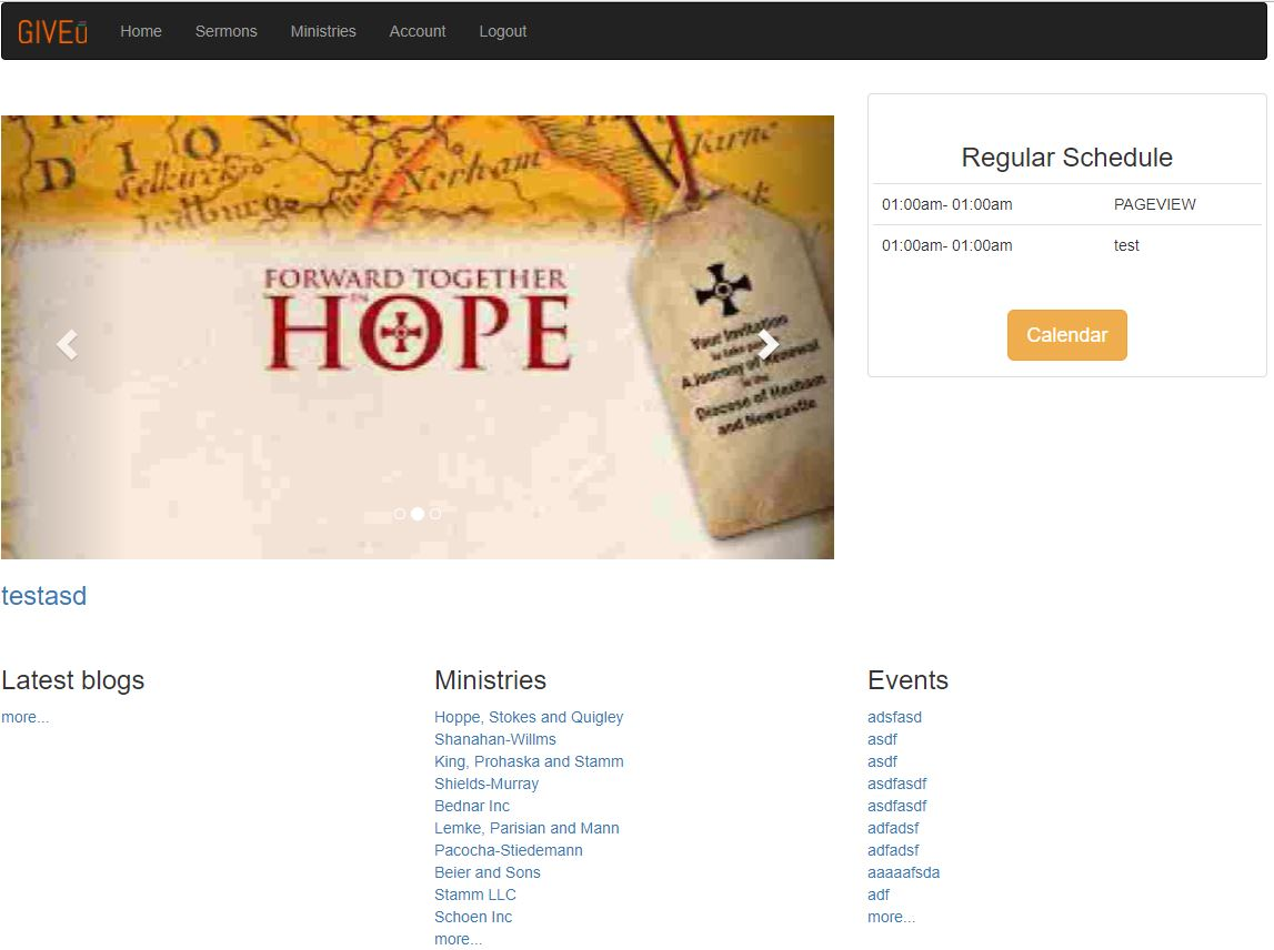 Church Content Management System Ccms By Amdtllc