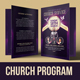 Church Service Program