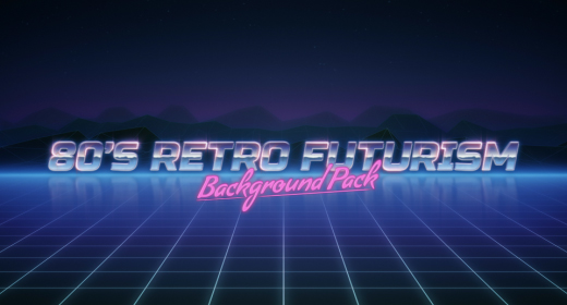 80s Retro Futuristic Backgrounds