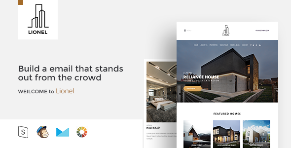 ThemeForest Lional Responsive Email & StampReady Builder 20516094