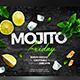 Mojito Friday Flyer - GraphicRiver Item for Sale