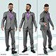 Man in Suit Animated 3D Pack - 3DOcean Item for Sale