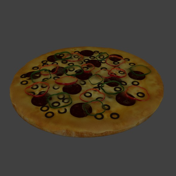 3DOcean Pizza 20609895